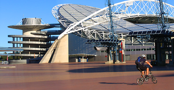 The Beautiful Thing About Cycling At Homebush Is That There Are Not Only 35kms Just Under 22 Miles Of Very Nice Cycle Paths And Restaurants