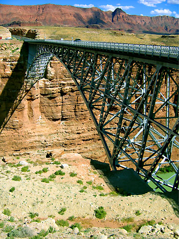 Navajo bridge Arizona