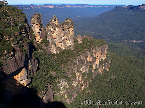 The Three Sisters from Echo Point Katoomba