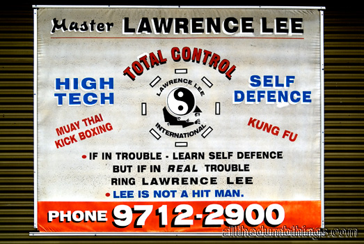 Mr Lee is NOT a hit man
