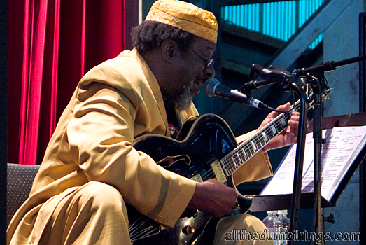 The one and only James Blood Ulmer